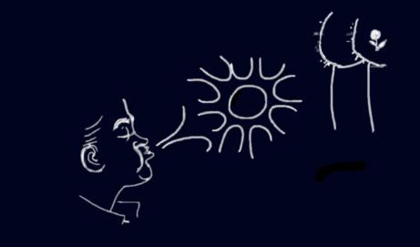 Blowing sunshine…